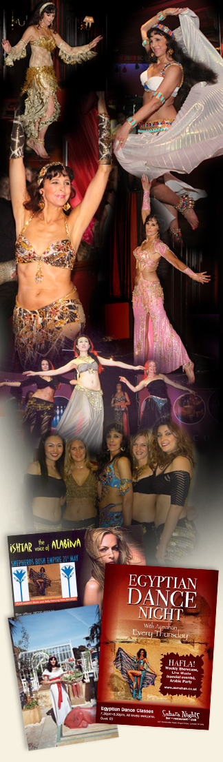 Egyptian Bellydancing events in london