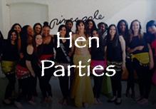 AEgyptian Bellydancing for Hen Parties